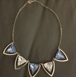 Blue & Silver Necklace